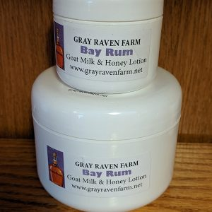 Bay Rum Goat Milk & Honey Lotion With CBD Oil – Double Strength