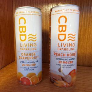 CBD Living Sparkling Water