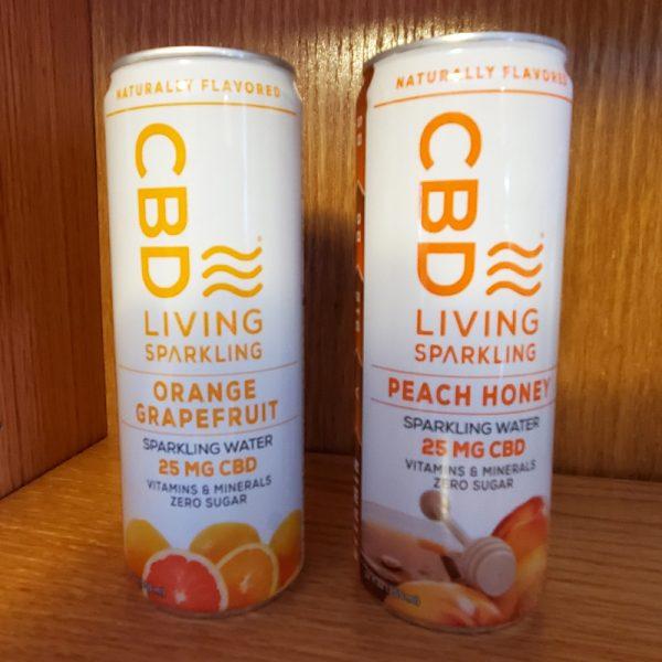 CBD Living Water, CBD Living Sparkling Water