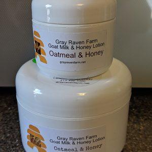 Oatmeal & Honey Goat Milk & Honey Lotion – 8 Oz.