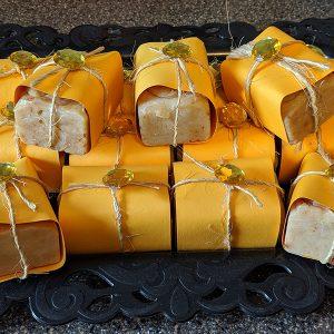 Orange Peel Goat Milk & Honey Soap