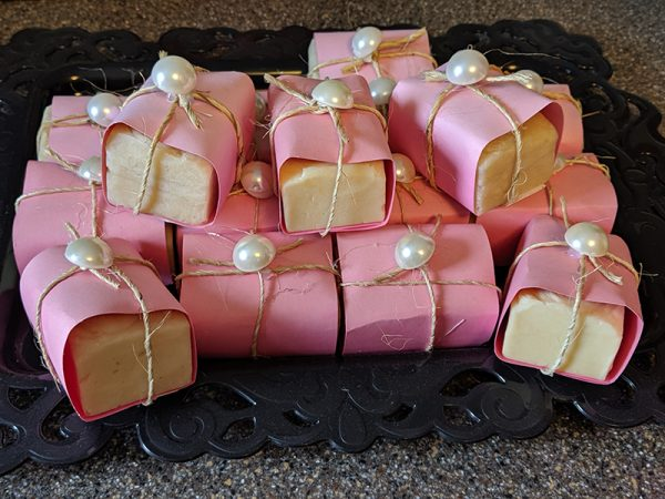 Pink Grapefruit Handmade Goat Milk & Honey Soaps, Handmade Soaps, Goat Milk & Honey Soaps Berkshires, Handmade Soaps Berkshires