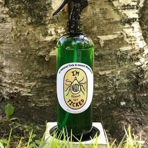 All-Natural Tick & Bug Repellent Spray – 8 Oz.