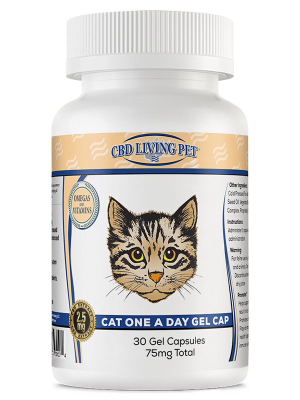 CBD Living Pet Products, CBD For Dogs, CBD For Cats