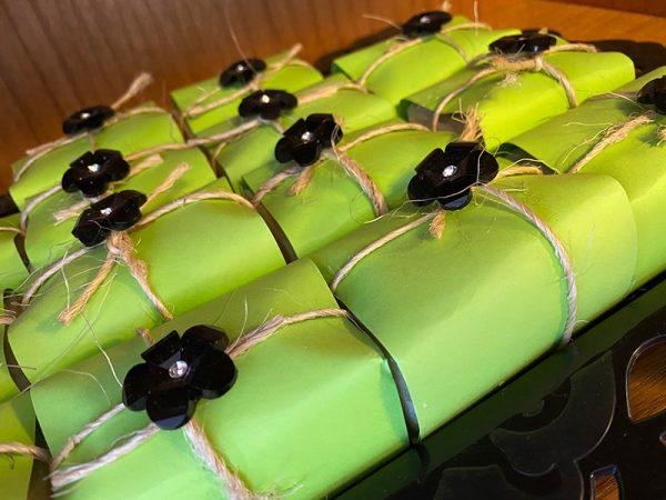 Green Tea Handmade Goat Milk & Honey Soaps, Handmade Soaps, Goat Milk & Honey Soaps Berkshires, Handmade Soaps Berkshires