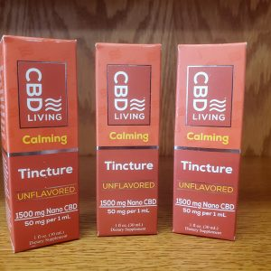 CBD Living Tinctures – CBD Oil Drops – 1500mg